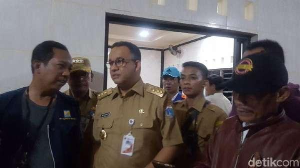 Dari Dukuh Atas, Anies Tinjau Banjir di Jati Padang