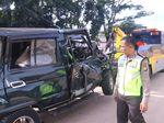 1 dari 13 Korban Kecelakaan di Tol Cawang Kritis