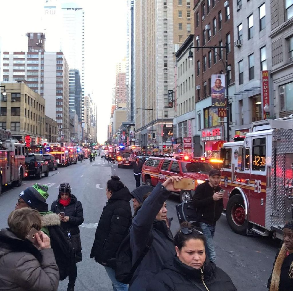 Serangan Israel di Gaza Jadi Alasan Pelaku Ledakan di Manhattan