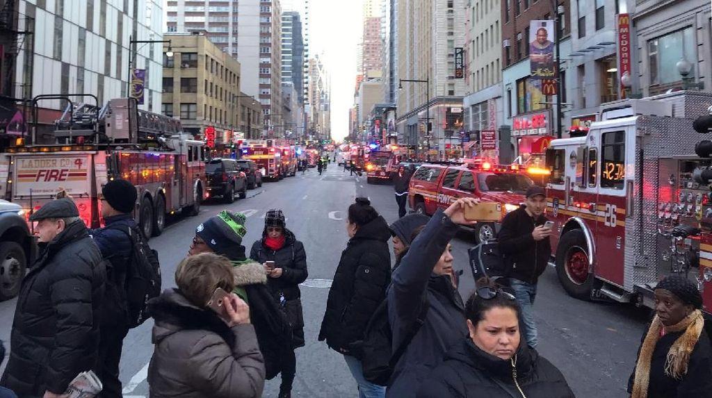 Ledakan Guncang Manhattan, Saksi Mata: Semua Orang Berlarian