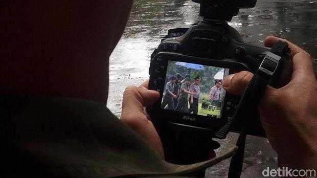 Sejumlah Perwira TNI dan Polri Bertemu Jokowi di Istana Bogor