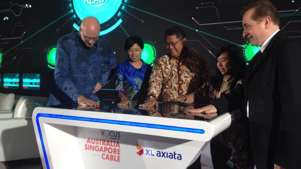 Ambisi Jadi Raja Digital, XL Ikut Bangun Kabel Laut USD 170 Juta