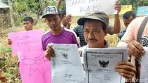 Warga Banyuwangi Gelar Aksi Damai Tolak Eksekusi Lahan