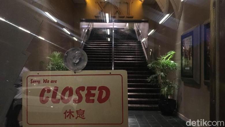 Sempat Tergenang, Bioskop Hollywood XXI Tutup