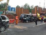 Begini Kondisi Mobil Usai Kecelakaan di Tol Cawang