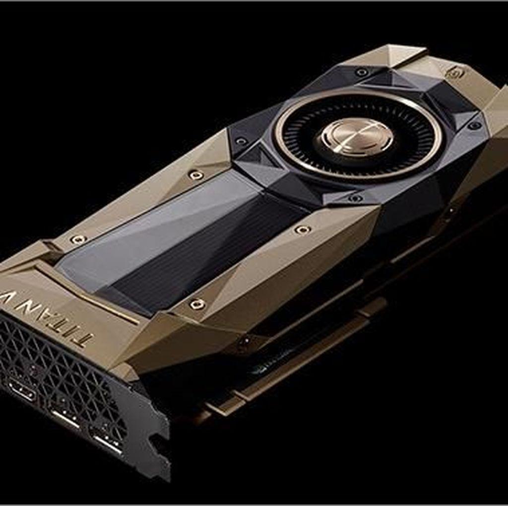 Nvidia Rilis GPU PC Terkencang Seharga Rp 40 Juta