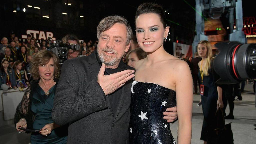 Daisy Ridley dan Mark Hamill Diunggulkan Masuk Nominasi Oscar