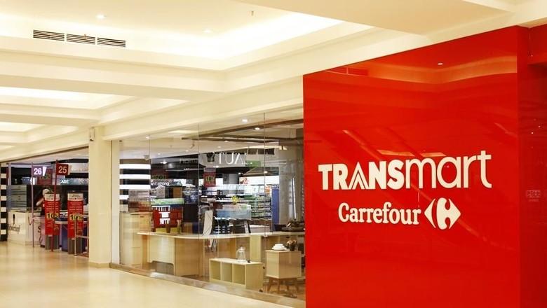 Diskon elektronik di Transmart Carrefour