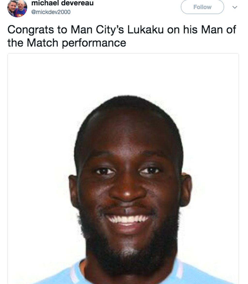 City harus berterima kasih kepada Lukaku yang sukses memberikan dua assist. Foto: Screenshot Twitter