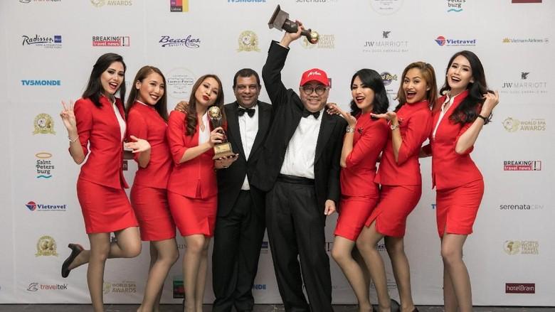AirAsia raih 2 penghargaan ddari WTA (dok AirAsia)
