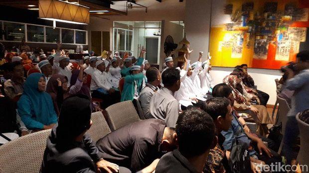 Para calon guru agama yang akan mengajar di daerah tertinggal, terdepan, dan terluar (3T)