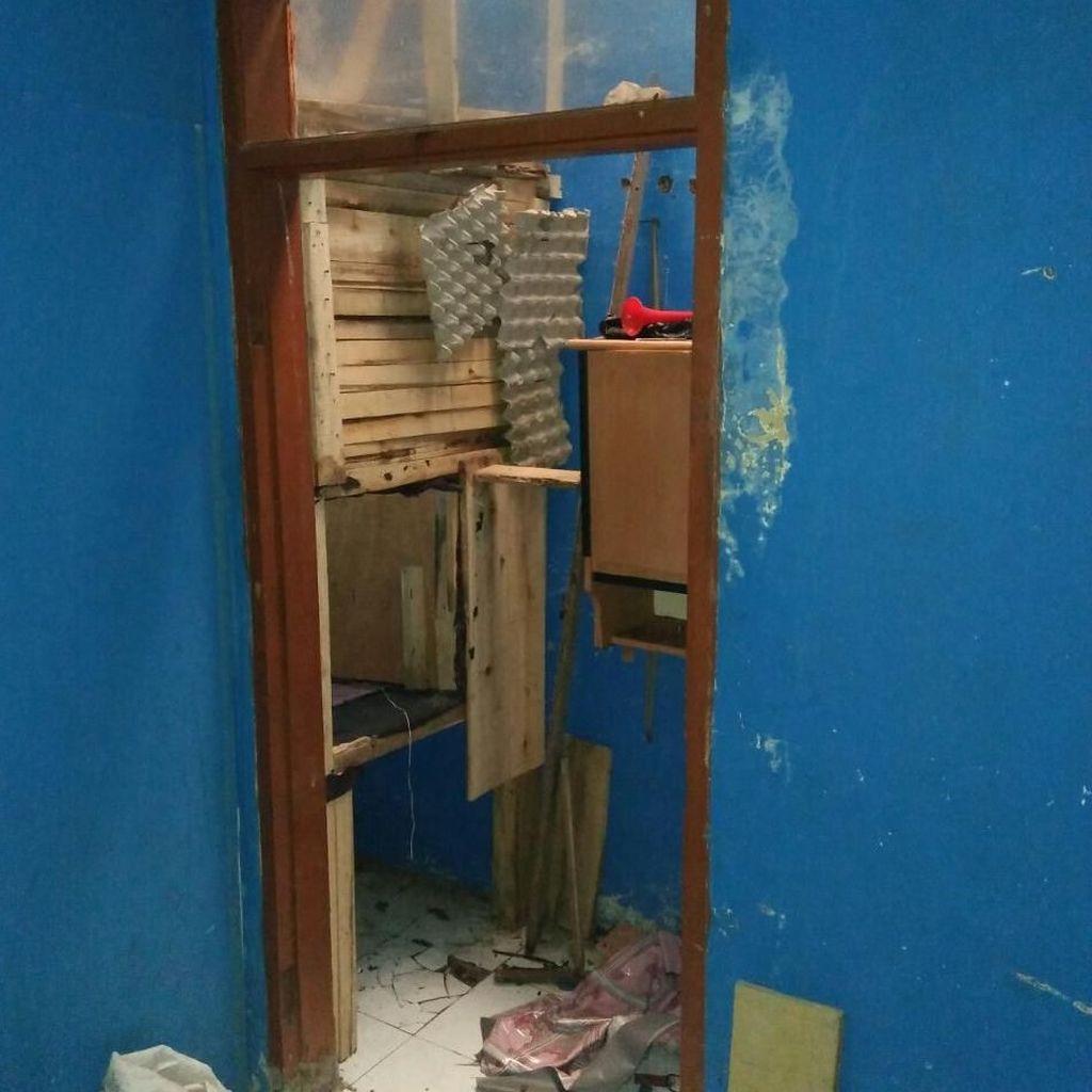 Penampakan Ruang Khusus Pelaku Sekap dan Cabuli ABG Bandung