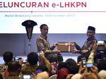 Momen Jokowi Terima User Name e-LHKPN dari KPK