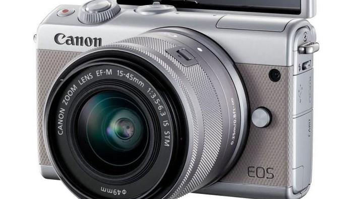 Canon EOS M100, Ringkas dan Mudah Digunakan