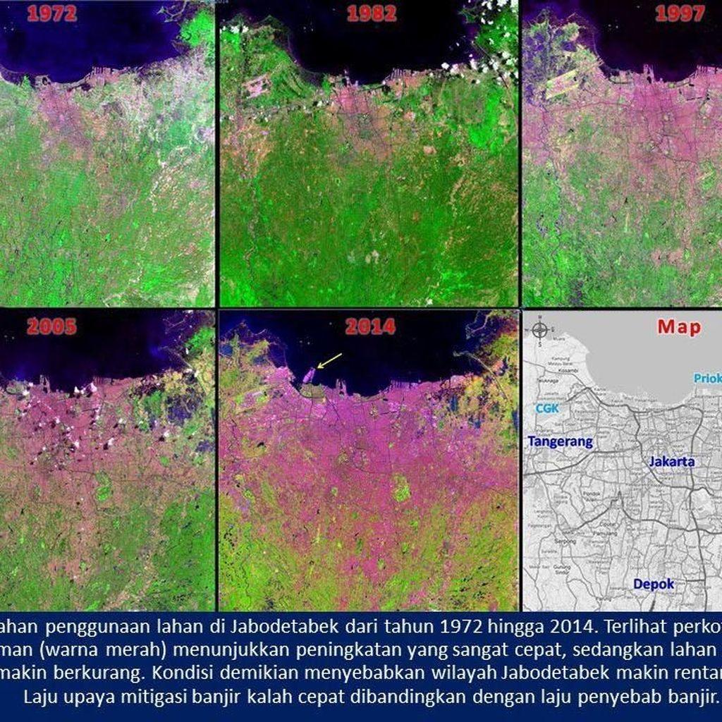 Wajah Jakarta 1972-2014: Makin Rentan Diserang Banjir