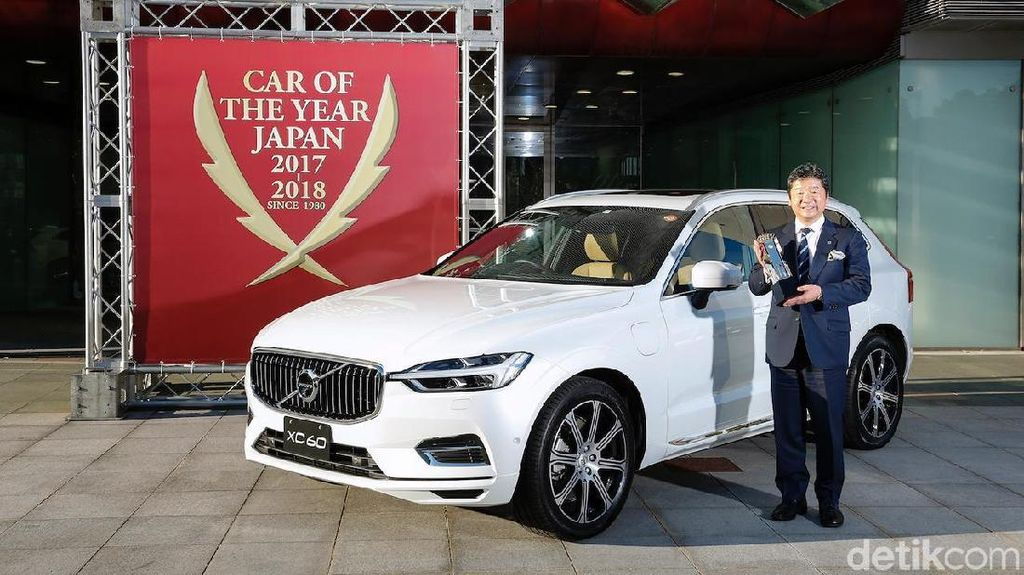Kalahkan Camry dan BMW Seri 5, Volvo XC60 Mobil Terbaik Jepang
