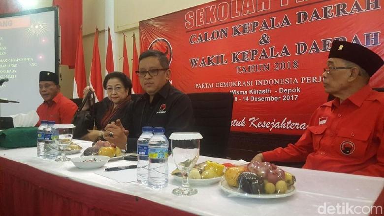 Megawati Beri Arahan Tertutup di Sekolah Calon Kepala Daerah PDIP