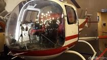 Foto: Replika Pesawat Kepresidenan dan Helikopter di Batu