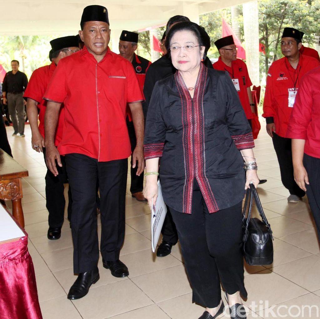 Megawati: PDIP Tak akan Pernah Terpancing Isu Pemecah Belah Bangsa