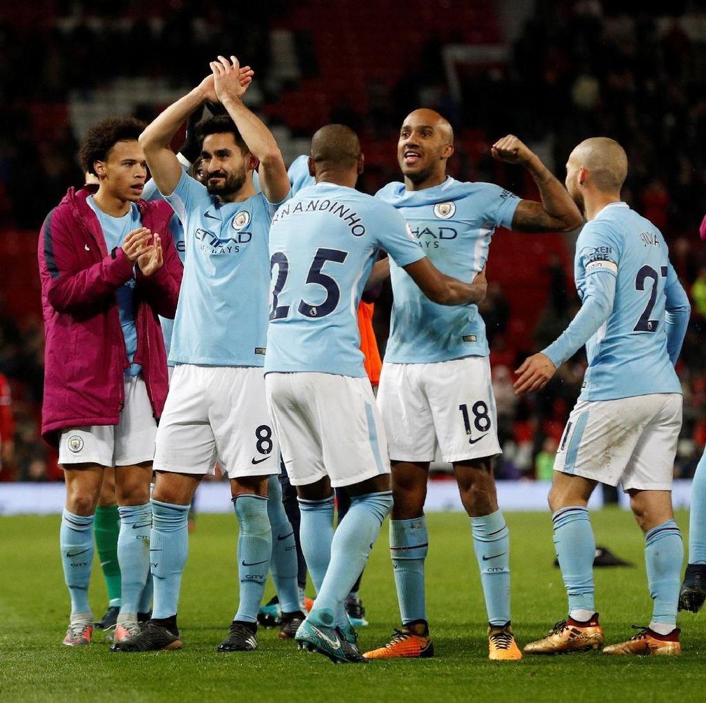 Guardiola: Wajar Kok Kalau Kami Rayakan Kemenangan di Old Trafford