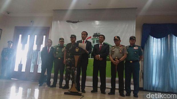 Presiden Jokowi dan para menteri Kabinet Kerja akan bertolak ke Turki