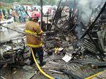 Gas Bocor, 5 Warung Ludes Terbakar di Cibadak Sukabumi