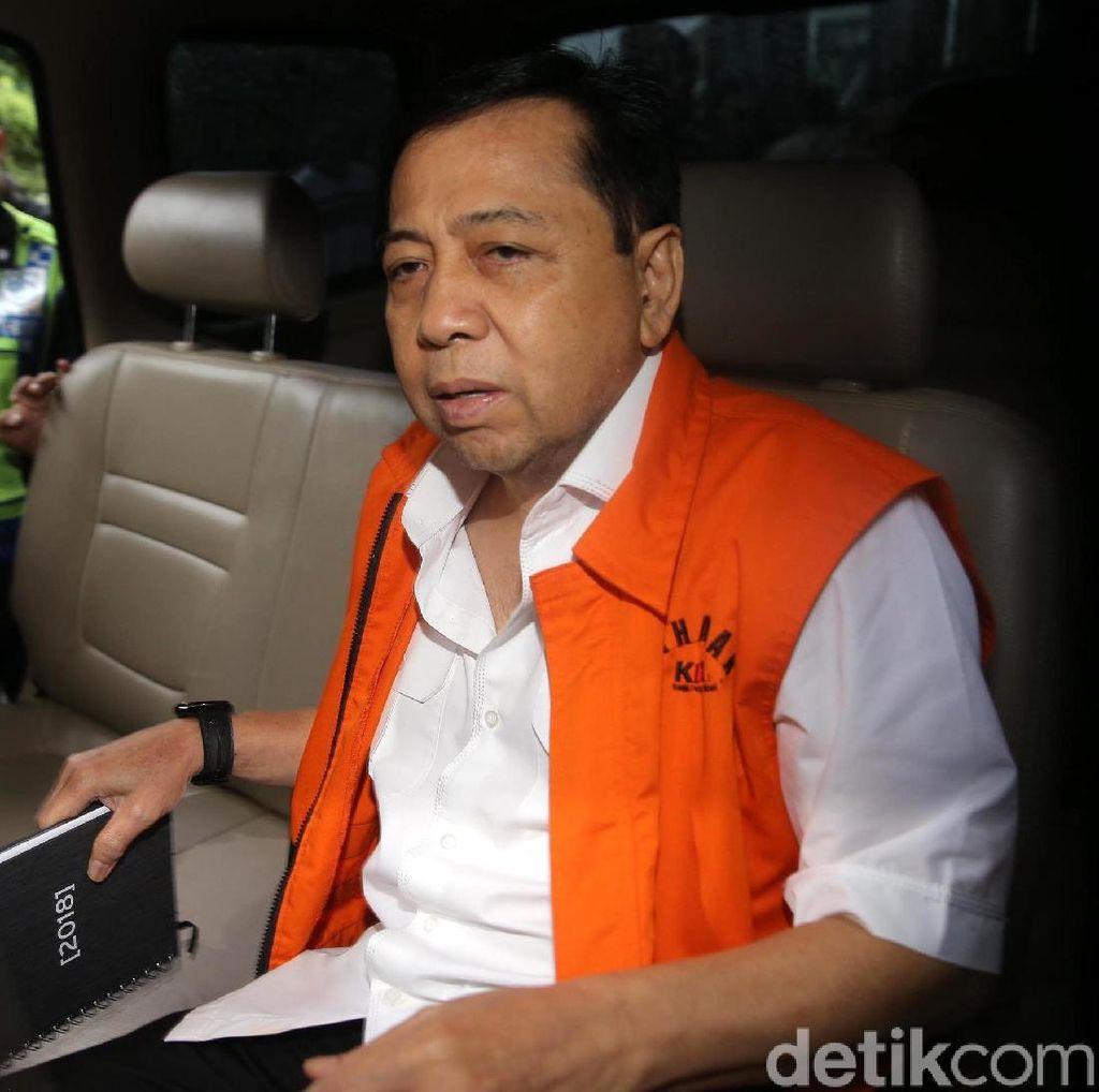 Drama di Sepanjang Kasus Novanto, Akankah Berlanjut Hari Ini?