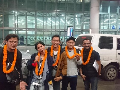 Bunga Marigold Jadi Tanda Sambutan Tim Dream Destination India