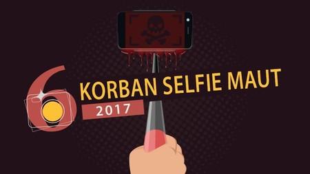 Korban Selfie Maut 2017, Banyak dari Indonesia