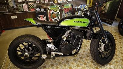 Ninja 250 Urban Tracker, Kaki-kakinya Lebih Mahal dari Harga Motornya