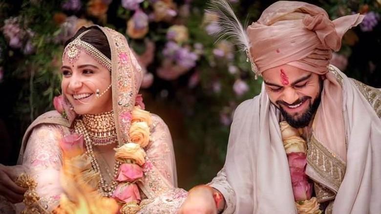 Selamat! Anushka Sharma dan Virat Kohli Telah Menikah di Italia