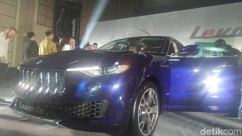 Maserati Perlihatkan SUV Mewahnya pada Jutawan Indonesia