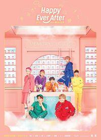 Member BTS dengan kostum warna-warni bak pelangi.