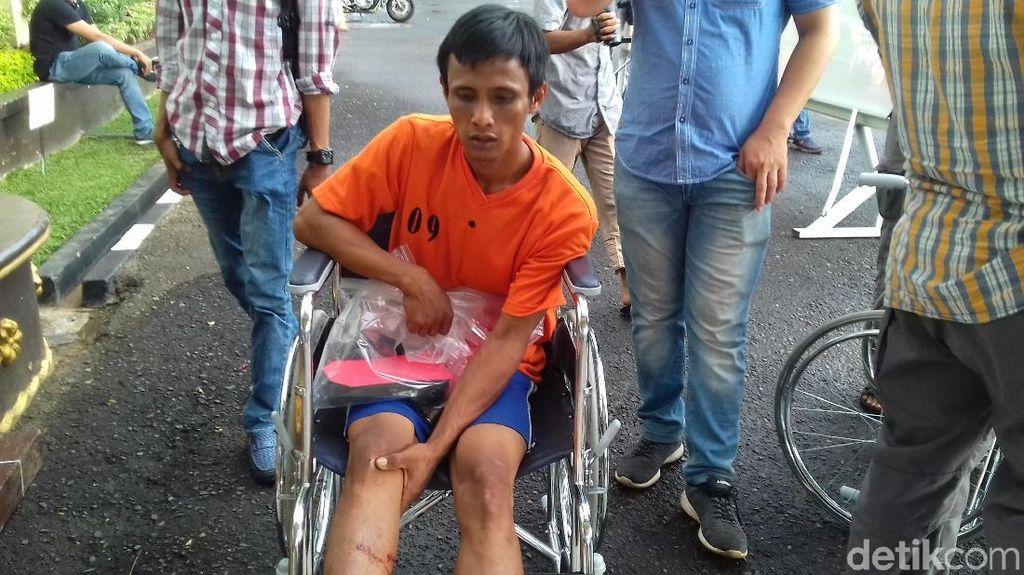 Polisi Tangkap Tersangka Pembunuh Penjaga Rumah Mewah di Palembang