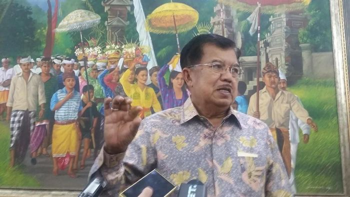 Foto: Wakil Presiden Jusuf Kalla (Taufiqqurrahman-detikcom)