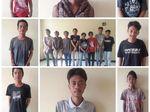 Anak Punk dan Pak Ogah Terjaring Razia di Tangerang
