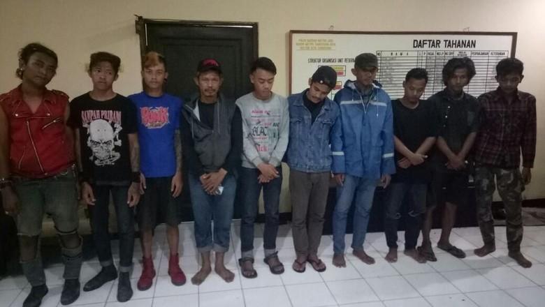 171 Preman Terjaring Razia di Tangerang, 9 Orang Ditahan