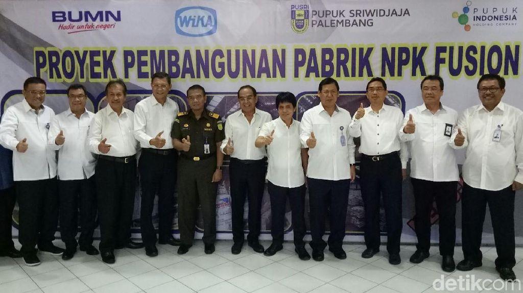 Produksi 3,4 Juta Ton NPK, Pusri Bangun Pabrik di Palembang