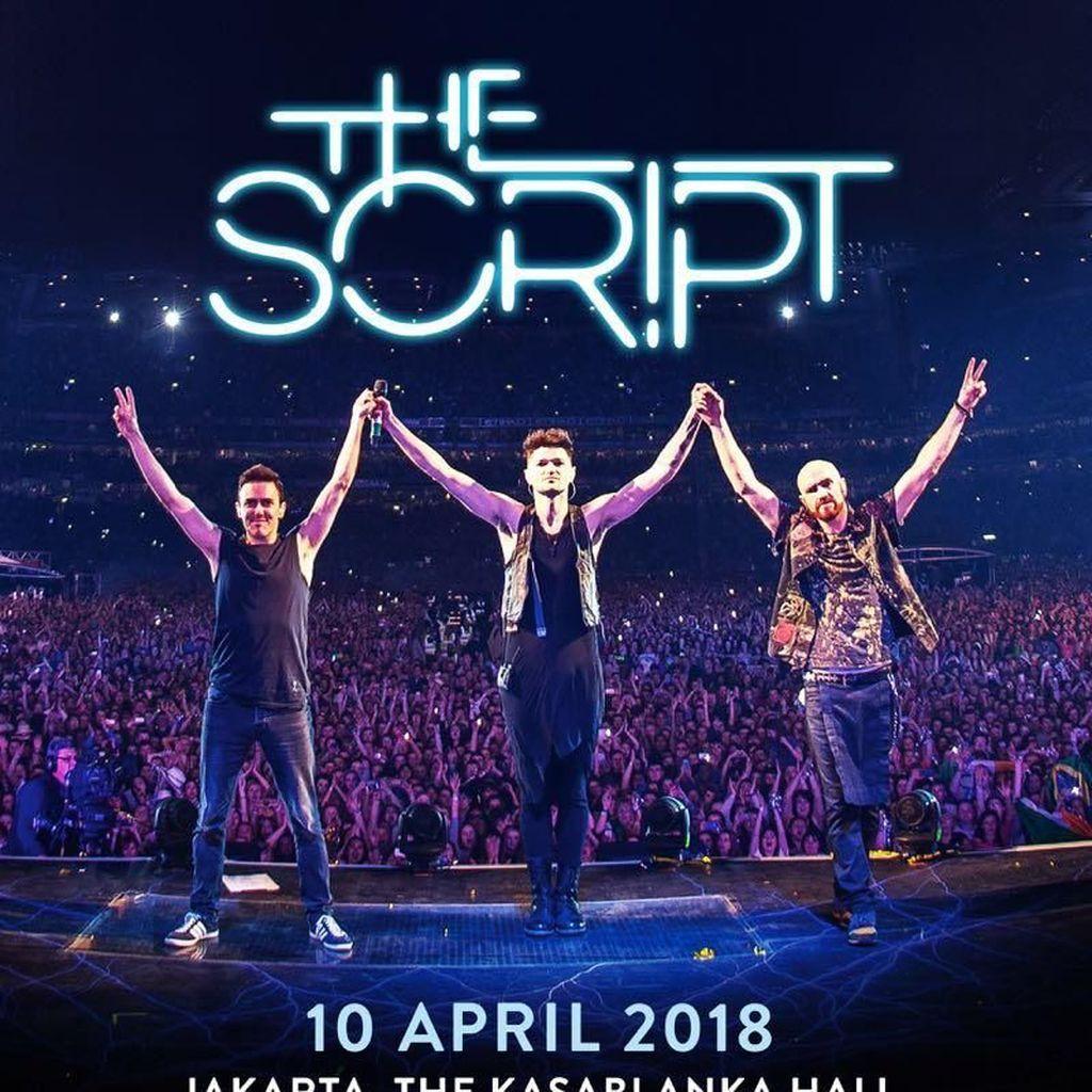 Gelombang Konser Berlanjut, The Script ke Jakarta April 2018