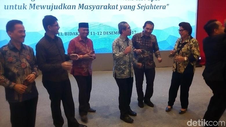 Saat 5 Pimpinan KPK Berjoget di Penutupan Hari Antikorupsi
