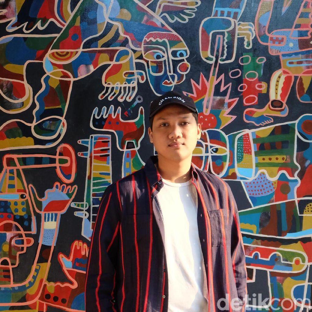 Albenk Alter, dari Musik Beralih ke Seni Visual