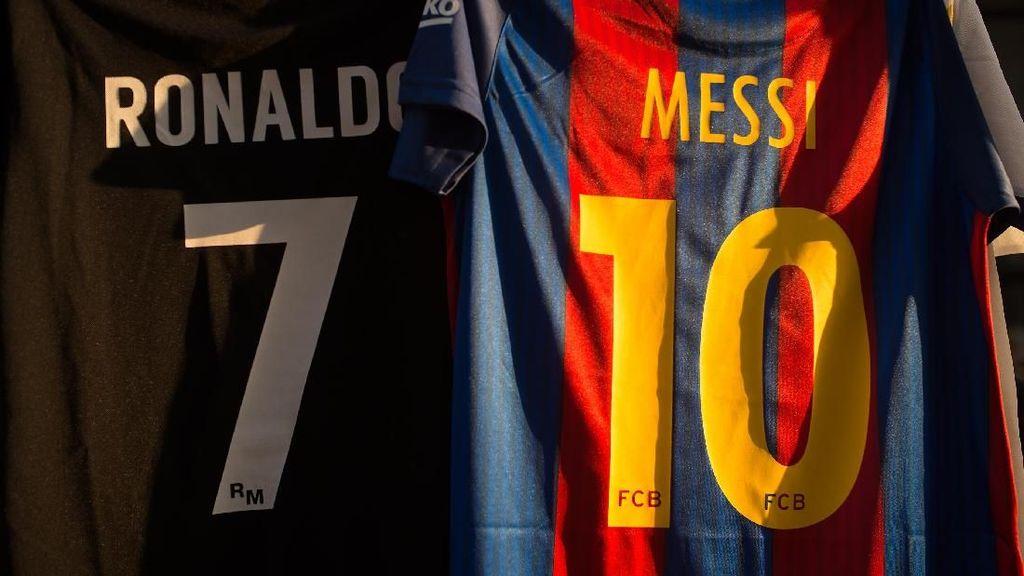 Ronaldo Mulai Ngebut di Liga, Messi Malah Menurun