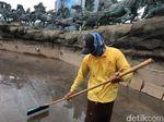 Bakal Direnovasi, Kolam Patung Kuda Dikeringkan