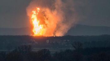 Foto: Begini Dahsyatnya Ledakan di Terminal Gas Austria