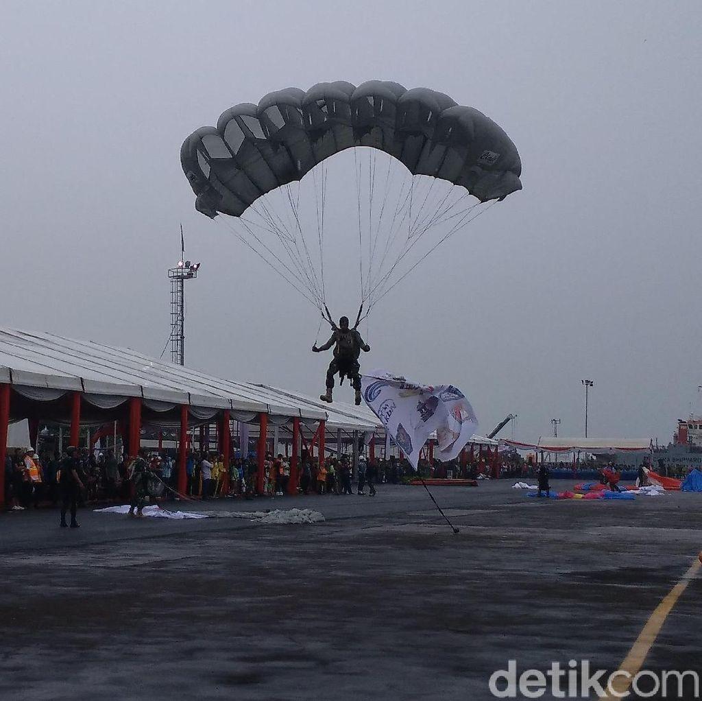 Atraksi Terjun Payung Siap Meriahkan Hari Nusantara di Cirebon