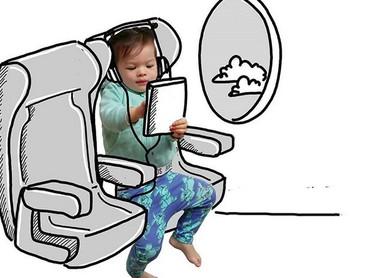 Banksii mau ke mana naik pesawat? Ikut dong... (Foto: Instagram/ @thuie)