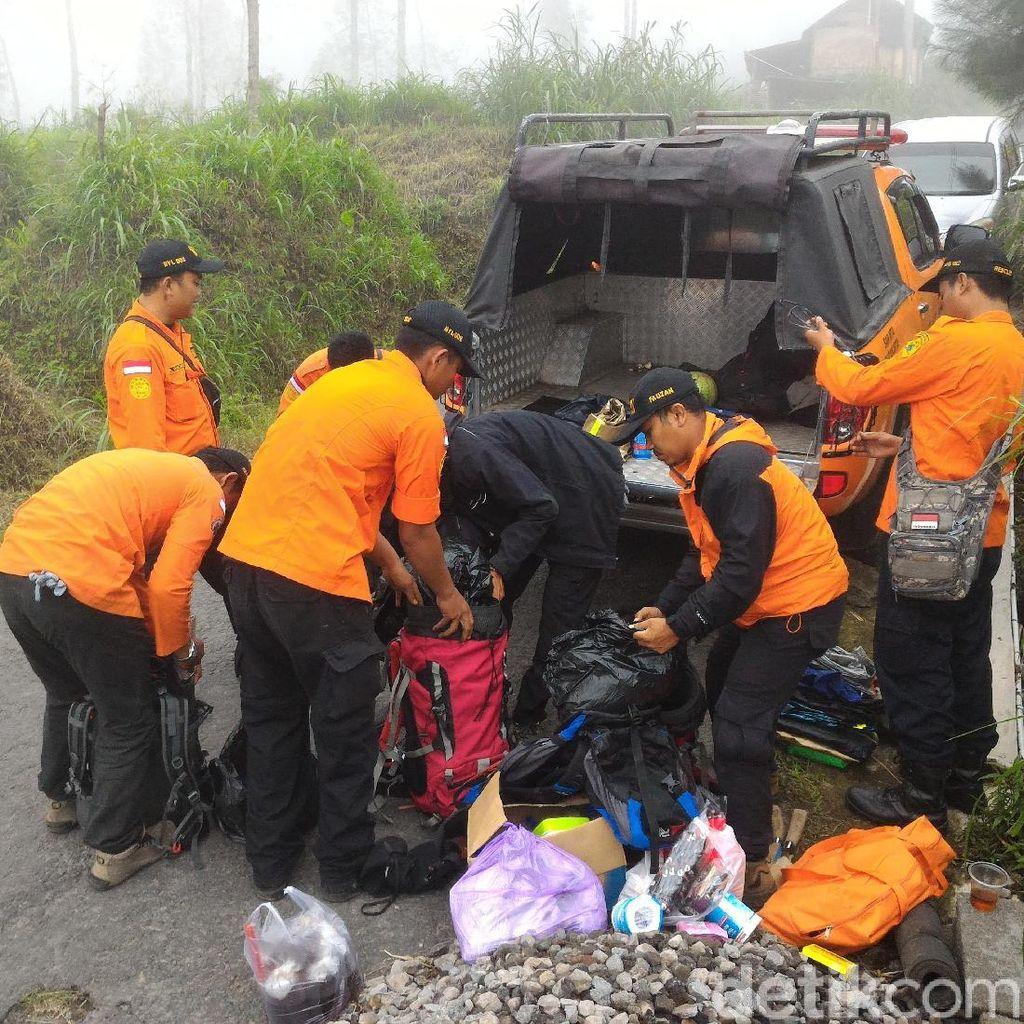 Hingga Pagi Ini 2 Pendaki Yang Hilang di Merapi Belum Ditemukan