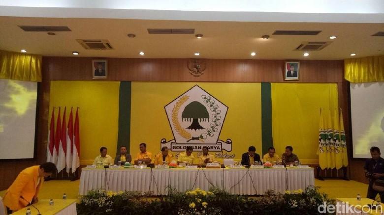 Idrus Marham Buka Pleno Tertutup DPP Golkar Bahas Munaslub