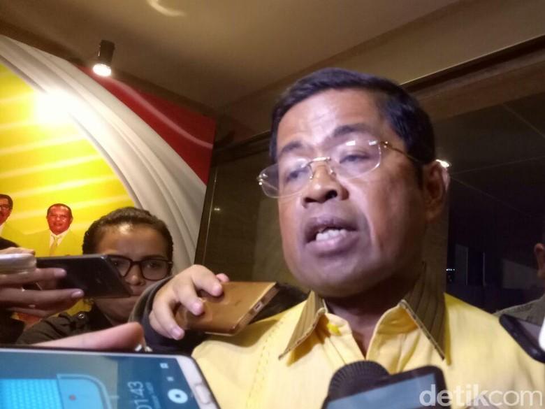 Idrus Tentukan Sikap Maju Jadi Caketum Golkar Usai Pleno DPP