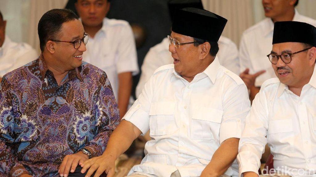 Anies Bicara Lulus Cepat dari Kabinet, Prabowo: Yang Untung Gue